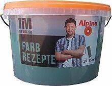 ALPINA Farbe Tim Mälzer Farbrezepte 2,5 L. Zauberwald, Dunkelgrün, Tannengrün, 6,78 Euro/L
