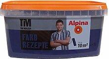 Alpina Farbrezepte Blaue Stunde Wandfarbe 1 Liter