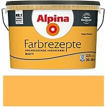 Alpina Farbrezepte Innenfarbe Wandfarbe matt, 2,5