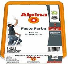 Alpina Feste Farbe 2,5 L. Deckenfarbe, Tropffrei