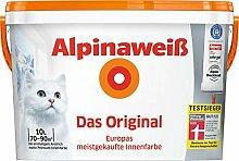 ALPINA Innenfarbe Das Original, Alpinaweiß 10L 10