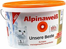 Alpina Innenfarbe Wandfarbe Alpinaweiß Unsere