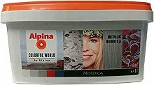 Alpina, Metallic Nordica Metall Accent Silber, 1