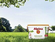 Alpina Natura Weiss 10 Liter Wandfarbe Weiß frei