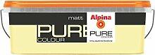 ALPINA Pure Colour, 2,5 L. Wandfarbe, Matt, Citro,