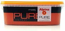 ALPINA Pure Colour, 2,5 L. Wandfarbe, Matt ,
