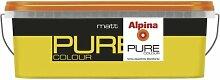 ALPINA Pure Colour, 2,5 L. Wandfarbe, Safran, Gelb