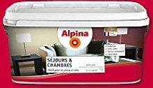 ALPINA Spezial-Wandfarbe für Wohn- und Schlafräume., rot, 876877