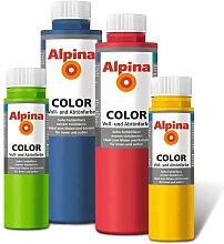 Alpina Voll und Abtönfarbe Wandfarbe (Color) 750