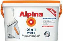 Alpina Wandfarbe 2in1 Weiß 10L