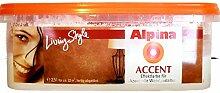 ALPINA Wandfarbe Accent Champagne 2,5 L Effekt