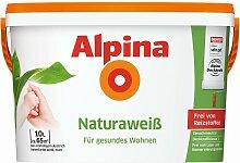 Alpina Wandfarbe Naturaweiß 2,5L 5L 10L Für