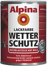 Alpina Wandfarbe, witterungsbeständig, Terrakotta, sind Esp., 2Liter