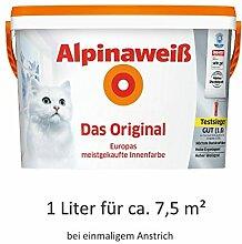 Alpinaweiß - Das Original, 1 Liter, weiße