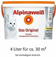 Alpinaweiß - Das Original, 4 Liter, weiße
