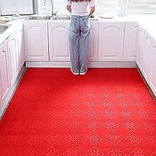 Alqn Roter Flur Teppich Mit Langen Läufern,