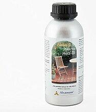 Alsanol Premium Holz-Öl 500 ml in der Alu-Flasche