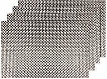 Alsino 4er Set Edle Platzmatten abwaschbar TS-57