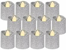 Alsino LED Teelicht flammenlose Teelichter Kerze