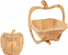 Alsino Obstkorb, Untersetzer, Holz Früchtekorb,