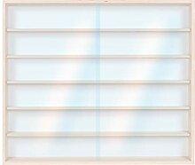 Spur H0 /& N M/ärklin 6 Ebenen 150 cm x 58 cm x 8,5 cm mit Nuten Alsino Setzkasten Vitrine Modelleisenbahn v-16a f/ür leidenschaftliche Sammler
