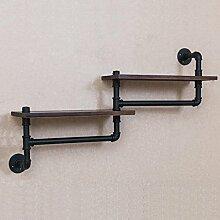 Alte Eisenindustrie Wasserrohr Regale Badezimmer