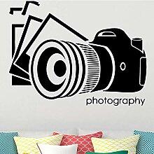 Alte Kamera Wandkunst Aufkleber Wandaufkleber Diy