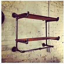 Alten Retro-Stil und praktische Sanitär Mantel und Hut Rack Display Ständer rack,Vintage alte