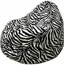 Altmark-Design Sitzsack XXL Zebra/incl. Inle