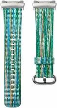 Altsommer Armband Regenbogen Muster Serie Leder