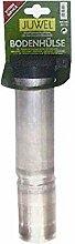Alu-Bodenhülse 55mm für Wäschespinnen