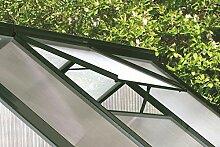 Alu-Dachfenster für Calypso, grün, ohne Glas