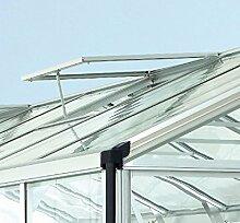 Alu-Dachfenster für Zeus, Alu eloxiert, ohne Glas