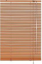 Alu Jalousie apricot (hellorange) 100cm breit x 175cm lang Aktion Sonnenschutz Aluminium