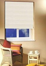 Alu Jalousie beige 120cm breit x 140cm lang Sonnenschutz Aluminium