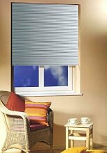 Alu Jalousie in silber 120cm breit x 175cm lang Aluminium Sonnenschutz