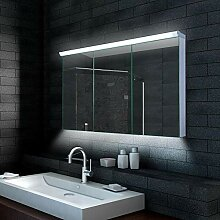 Alu LED Beleuchtung Badezimmerschrank Badschrank