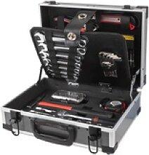 Alu-Werkzeugkoffer mit 90 tlg. Werkzeug Set