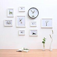 ALUK- 8 Multi Bilderrahmen Set minimalistischen