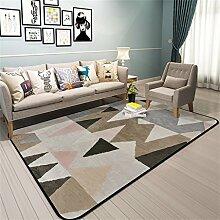 ALUK-carpet Musterteppiche Nachttische Einfaches Modernes Zuhause Matten Unregelmäßiges Muster Schöner Teppich (Farbe : A, Größe : 160cm*230cm)