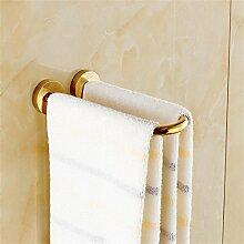 ALUK- Europäische Handtuchhalter mini kreative Bad Handtuchring Handtuchhalter (Gold)