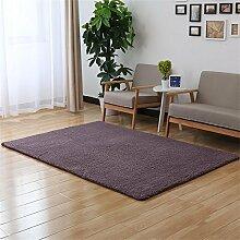 ALUK-Schöne Samt-Teppich Wohnzimmer Schlafzimmer Bedside Tatami Teppich Sofa Rechteckige Teppich