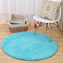 ALUK-Super Runde Teppiche Wohnzimmer Schlafzimmer Teppich Computer Stuhl Teppiche