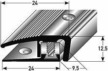Aluminium Abschlussprofil 90cm – silber, 7 - 17