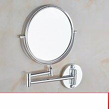 Aluminium Bad Kosmetikspiegel im Raum/Faltung Kosmetikspiegel/Wandspiegel/Bad Lupen-B