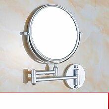 Aluminium Bad Kosmetikspiegel im Raum/Faltung Kosmetikspiegel/Wandspiegel/Bad Lupen-A