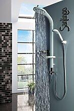 Aluminium Duschpaneel Duschsäule mit Regendusche