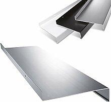 Aluminium Fensterbank in Silber Zuschnitt nach