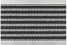 Aluminium Fußmatte Elegant Mat • Türmatte mit