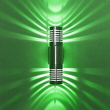 Aluminium LED Wandleuchte, 6W Creative Doppelkopf